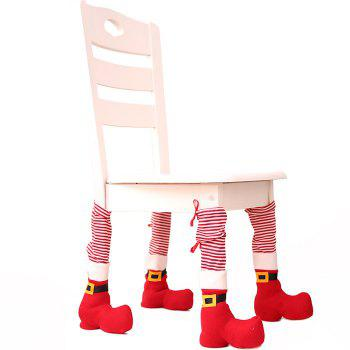 Christmas Decorations Table Chair Protective Cover Creative Dress Up