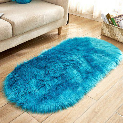 Wool - like Fiber Living Room Carpet Door Mat - CELESTE