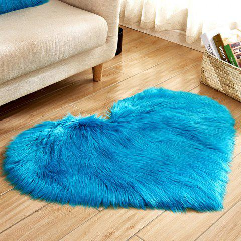 Love Wool Carpet Mat Mattress Blanket Sofa Cushion Mat - TURQUOISE
