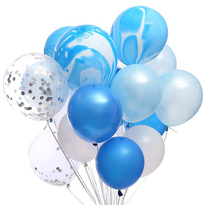 Image of 12 Inch Birthday Wedding Balloon Set