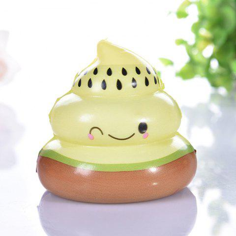Squishy Slow Rising Squeeze Kid Stress Relief Toys - BROWN