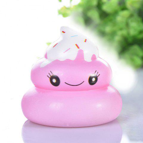Squishy Slow Rising Squeeze Kid Stress Relief Toys - PINK