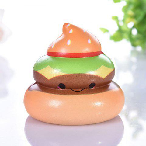 Squishy Slow Rising Squeeze Kid Stress Relief Toys - APRICOT