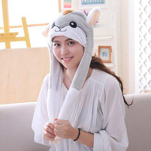 Cute Hamster Style Hat - multicolor A