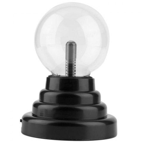 5 Inch Plasma Magic Light Electrostatic Induction Ball Magic Creative Birthday Gift - TRANSPARENT