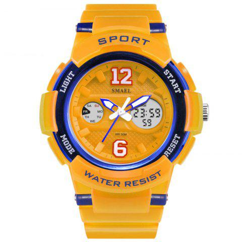 Colorful Cool Sports Hip Hop Multi-function Watch - ORANGE