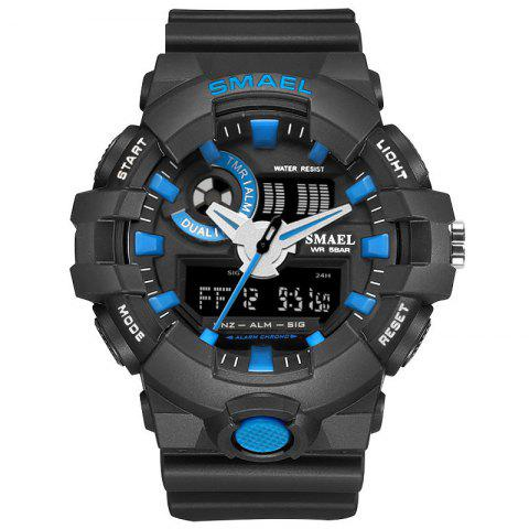 Fashion Sports Multi-function Electronic Watch - BLUE