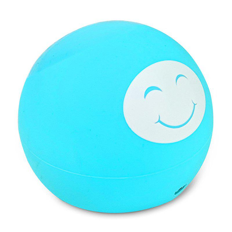 Smiley Wireless Charger 10W Fast Charge Compatible 7.5W QI Standard - BLUE