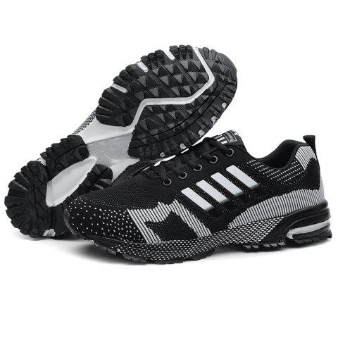 Men Breathable Thin Shock Absorption Sports Running Shoes - NIGHT EU 39 75d12cd06429