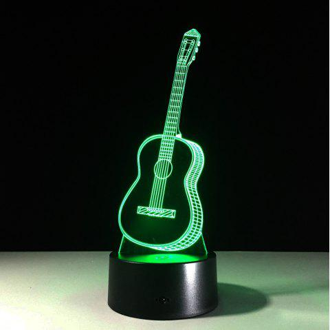 Music Guitar 3D Night Lights - BLACK