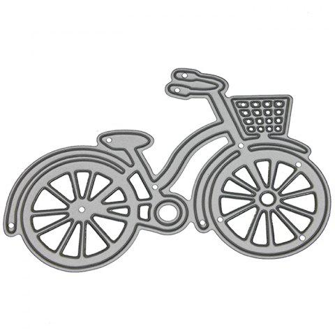 9 - LBE3496 Silver Carbon Steel Cutting Dies Bicycle - SILVER