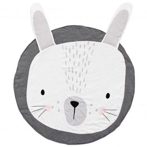 Printed Children's Crawling Mat Game Carpet - multicolor A GRAY RABBIT