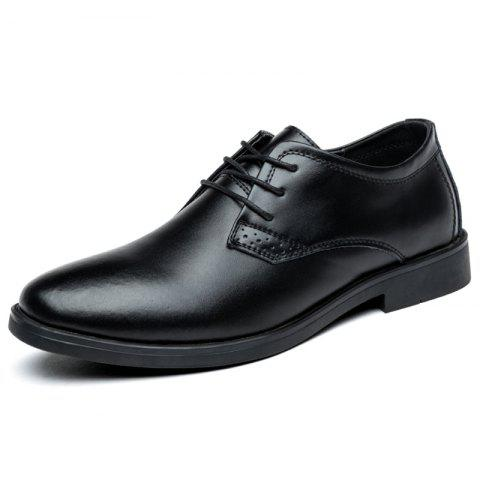 Fashion Creative Men's Oxford Shoes - BLACK EU 43