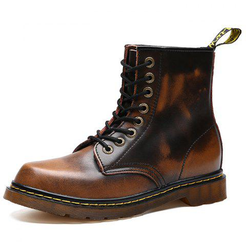 Leisure Simple Men's Boot - BROWN EU 42