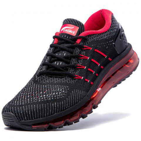 ONEMIX 1155 Men Comfortable Sneakers - RED EU 42