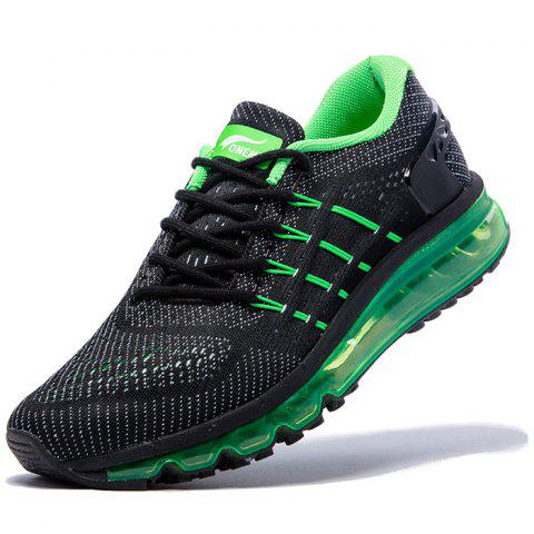 ONEMIX 1155 Men Comfortable Sneakers - YELLOW GREEN EU 43