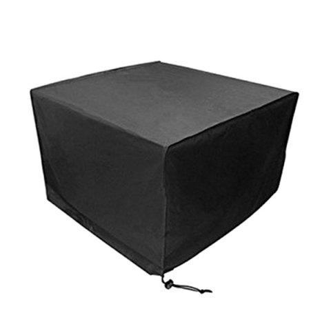 Oxford Cloth Outdoor Garden Dustproof Waterproof Cover for Table Furniture - BLACK 242 X 162 X 100