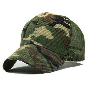 Mountaineering Visor Camping Camouflage Cap