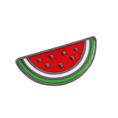 Broche de fruits amusante - multicolor A WATERMELON