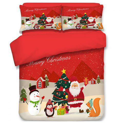 Limited Offer 2019 Christmas Happy Santa Gift Quilted Pillow Case