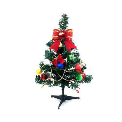 Decorative Christmas Tree with Ornaments - multicolor A 30CM