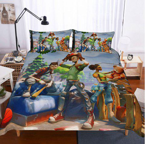 Fortress Night Home Textile Set - GREEN ONION US-QUEEN229CM×229CM