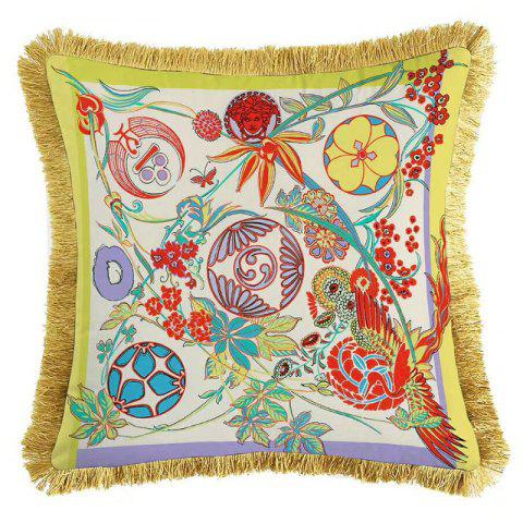 Nordic Fashion Soft Double-sided Printed Pillow Sofa Cushion - multicolor A