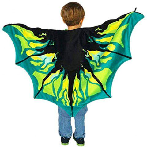 Dream Butterfly Wing Shawl Colorful Blanket Scarf Toy - multicolor A LEGEND OF DRAGON