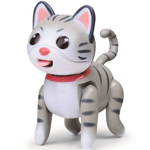 Cute Pet Education Electronic Induction Toys Set - GRAY