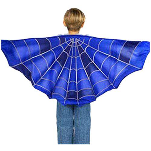 Dream Butterfly Wing Shawl Colorful Blanket Scarf Toy - multicolor A BLUE SPIDER