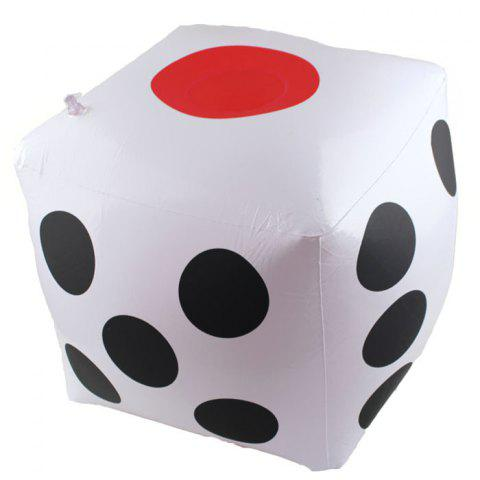 Plastic Tweezers 32cm Inflatable Sieve Game Toy Dice Entertainment Event Props - WHITE