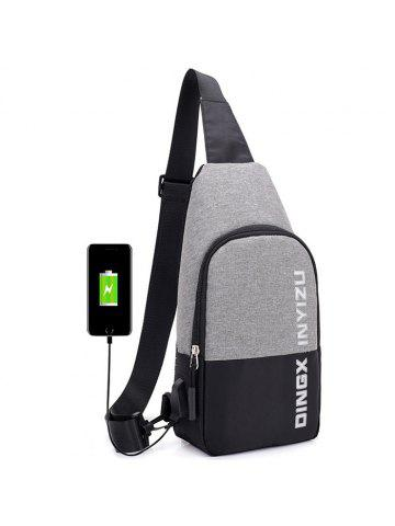 af2b925fa7 Waterproof USB Multi-layer Outdoor Riding Anti-theft Male Bag