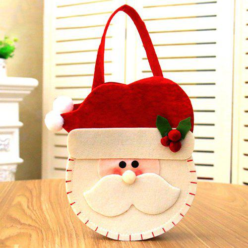Christmas Decorations Creative Gift Candy Bags - RED