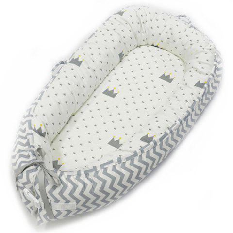 Cotton American Portable Removable Washable Newborn Baby Uterus Bionic Bed - multicolor A BY-2050