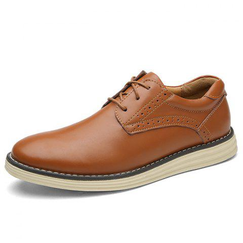 Men's Oxford Shoes Casual Wild - LIGHT BROWN EU 41