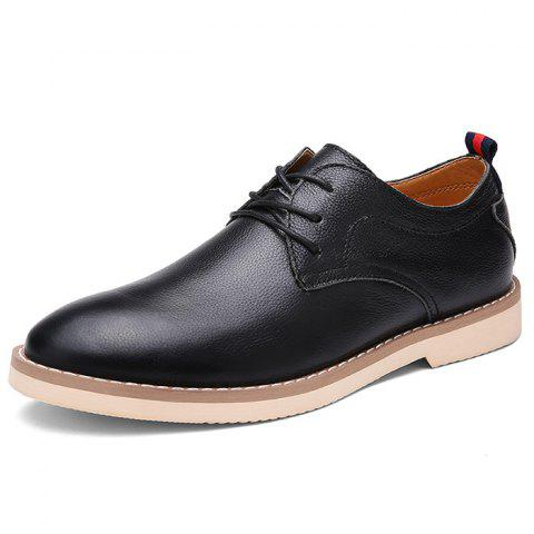 Men's Oxford Shoes Soft Casual - BLACK EU 42