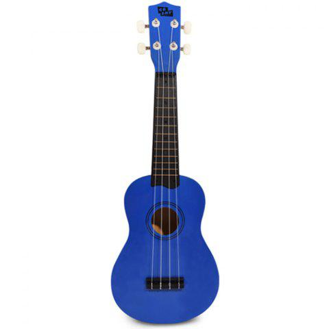 Ukulélé Guitare Couleur Pure - Bleu Marine REGULAR