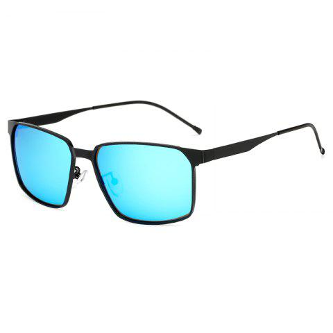 Retro Classic Men's Coated Polarizer Glasses - multicolor C