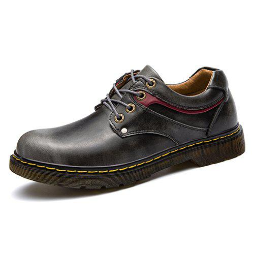 Casual Oxford Simple Chaussures - Noir EU 40