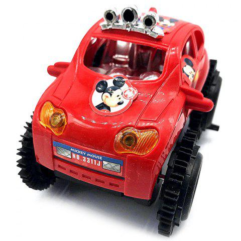 Electric Toy New Children's Heel Car - RUBY RED