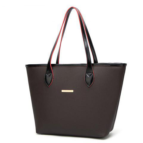 Women's Handbag Simple Fashion Wild - DEEP COFFEE