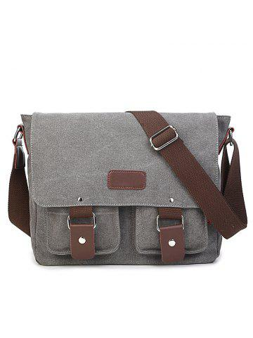 b8f7130c4568 2019 Gray Canvas Bag Online Store. Best Gray Canvas Bag For Sale ...