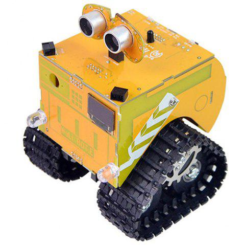 XiaoR-GEEK Wuli Bot Scratch STEAM Education Programming Robot APP Remote Control Arduino UNO R3 - YELLOW