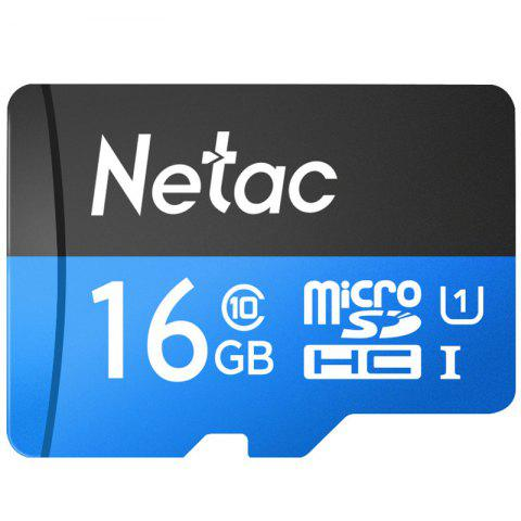 Netac High Speed Memory Card Mobile Phone TF Card - DAY SKY BLUE 16GB