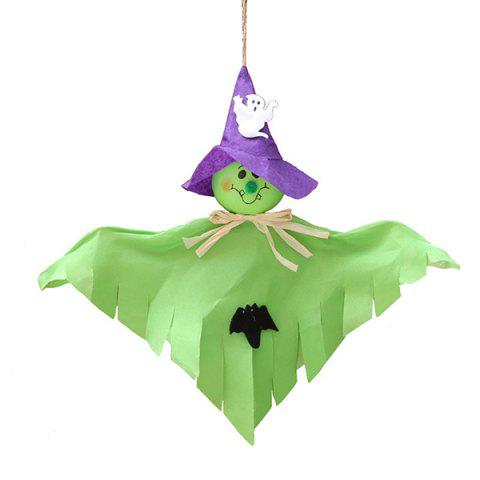 13 - XW00876 - A11.2.11 Halloween Ghost Decoration Festival Haunted House Scene Arrangement Props - YELLOW GREEN