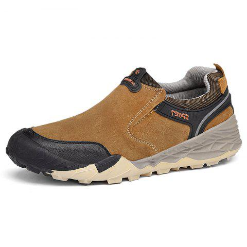 Outdoor Hiking Shoes for Men - CAMEL BROWN EU 39