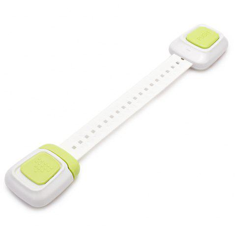 Multi-function Two-button Child Safety Lock - TEA GREEN