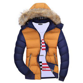 Image of 1065 Youth Fashion Hooded Cotton Coat