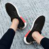 Mesh PU Casual Shoes - BLACK EU 40