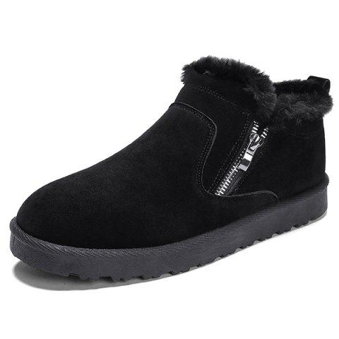 Outdoor Warm Boots - BLACK EU 41
